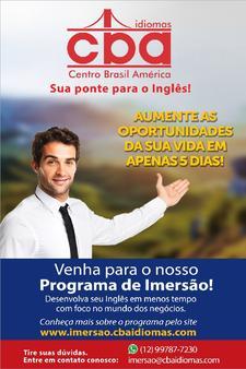 CBA IMERSÃO logo