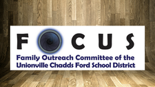 FOCUS (Family Outreach Committee of the UCF School District) logo