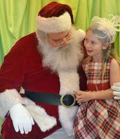 Posh Tot Events Tea with Santa