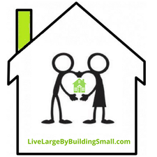Live Large By Building Small logo