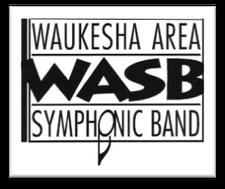 The Waukesha Area Symphonic Band logo