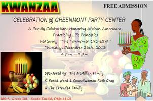 ANNUAL KWANZAA CELEBRATION