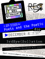 The Poet WILL Be Televised!