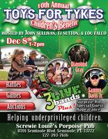 10th Annual Toys for Tykes Children's Benefit