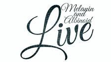 Melanin and Albinoid Live logo