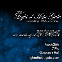 2014 Light of Hope Gala - An Evening of Stars - Benefiting CASA...