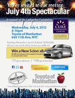 Scion of Manhattan's 4th of July Spectacular