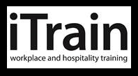 iTrain Workplace and Hospitality Training logo