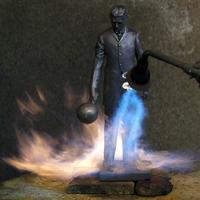 Unveiling of a Statue of Nikola Tesla in the Silicon Va...