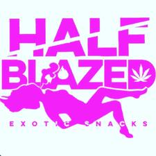 Half Blazed Exotic Snacks  logo