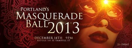 2013 Portland's Masquerade Ball