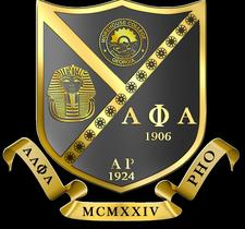 Alpha Rho Chapter 93rd Anniversary and Reunion  logo