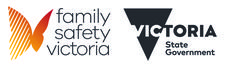 Family Safety Victoria, Department of Health and Human Services logo