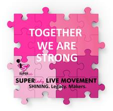 SUPERLady LIVE MOVEMENT - SHINING. Legacy. Makers.  logo