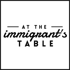 At the Immigrant's Table Gatherings logo