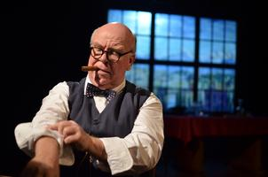 Ron Keaton as CHURCHILL - Second Show Added-