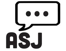 Awkward Silence Jax: a comedy troupe logo