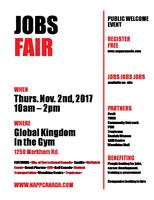 TORONTO JOBFAIR - RECRUITING EVENT - THURSDAY NOVEMBER...