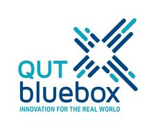 QUT bluebox logo