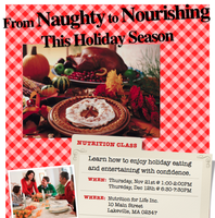 From Naughty to Nourishing This Holiday Season