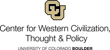 Center for Western Civilization, Thought & Policy CU Boulder logo
