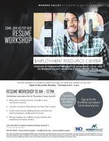 erc resume workshop tickets thu oct 5 2017 at 10 00 am eventbrite