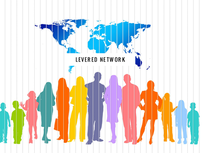 Levered Network logo