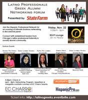 Latino Professionals Greek Alumni Networking Forum