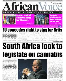 African Voice Newspaper UK logo
