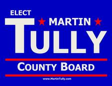 Martin Tully, Candidate for DuPage County Board - District 3 logo