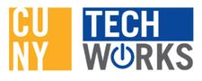 Queensborough Community College   CUNY TechWorks Program logo