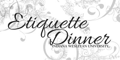 IWU Etiquette Dinner