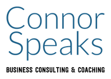 Laura Connor, Dynamic Speaker Maker.  Founder of Connor Speaks. logo