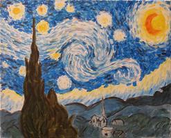 Pa'ina Paint Club - Van  Gogh Starry Night