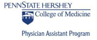 Penn State Physician Assistant Program Small Group Info...