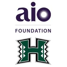 aio Foundation & UH Athletics logo