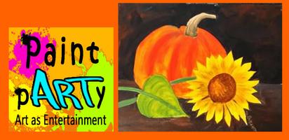 Pumpkin & Sunflower - $35