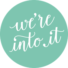 We're Into It logo