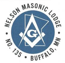 Nelson Masonic Lodge #135 logo