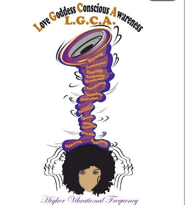 Love Goddess Conscious Awareness logo
