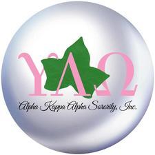 Alpha Kappa Alpha Sorority, Inc.® Upsilon Lambda Omega Chapter logo