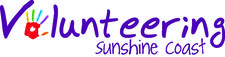 Volunteering Sunshine Coast logo