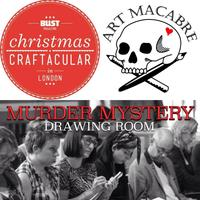 Art Macabre's Murder Mystery Drawing Room @ BUST...