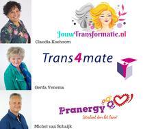 Change your life (JouwTransformatie, Trans4mate & Pranergy) logo