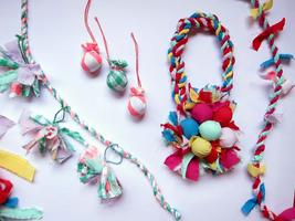 Christmas Ornaments from Cloth with Alex Falkiner