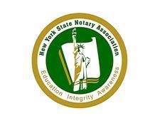 New York State Notary Public Association logo
