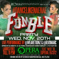 Fumble Party| 18+  | 11.20.13
