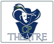 The Woodlands College Park Theatre Department logo
