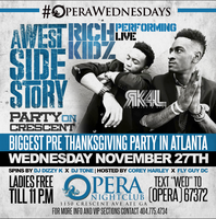 Thanksgiving Eve w/ Rich Kidz | 18+ | 11.27.13