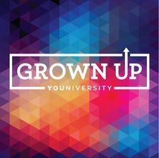 Grown Up YOUniversity logo